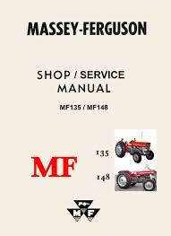 combo massey ferguson mf135 mf148 shop service manual u0026 perkins