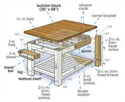 butcher block kitchen island table how to build a butcher block island table http homestead and