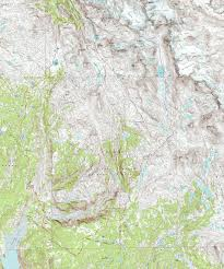 Table Rock Lake Map Wind River Trail Maps Wyoming