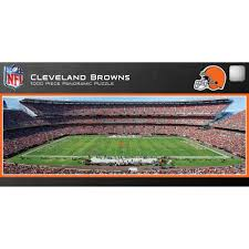 master pieces cleveland browns panoramic stadium puzzle 1 000