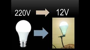 how to convert to led lights convert 220v led bulb into 12v led bulb youtube