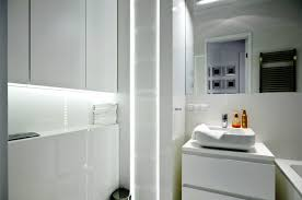 astonishing white small bathroom with laundry furniture design