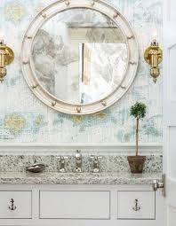 Ornate Bathroom Mirror Ornate Bathroom Mirror Houzz Beachy Mirrors Contemporary
