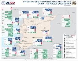 Where Is Syria On The Map by Crisis In Syria U S Agency For International Development