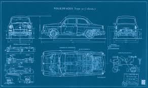 hippie volkswagen drawing type 3 fastback blueprint vw 1500 u0026 type 3 pinterest chang u0027e