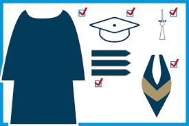 buy cap and gown graduates gw commencement the george washington