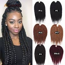 medium size packaged pre twisted hair for crochet braids crochet braid hair senegalese twist 12 inches promotion shop for