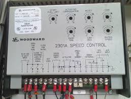 woodward speed controller ship spares