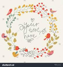 Vintage Wedding Invitation Card Save Date Floral Card Vintage Wedding Stock Vector 134605424