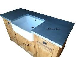 meuble cuisine zinc meuble cuisine zinc exceptional cuisine ardoise et bois 8 grand