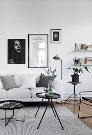 home design decorating ideas best 25 monochrome interior ideas on hairpin table