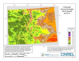 Colorado vegetaion images Windexchange colorado 30 meter residential scale wind resource map jpg