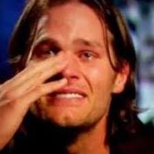 Tom Brady Crying Meme - did brady cry didbradycry twitter