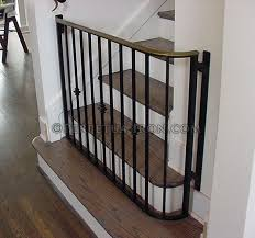Baby Gate For Bottom Of Stairs Banisters Perpetua Iron Gates