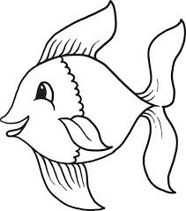 cartoon fish coloring pages printable cartoon fish coloring
