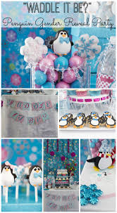 reveal baby shower waddle it be gender reveal baby shower great idea for winter