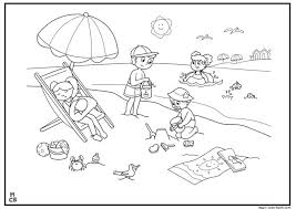 26 best summer coloring pages free online images on pinterest
