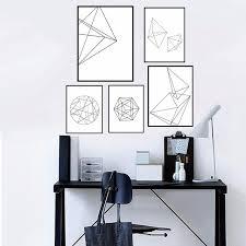 graphic design home decor modern nordic minimalist graphic design geometric canvas poster