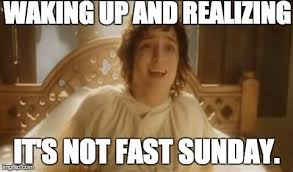 Sunday Meme - fast sunday meme mormon light