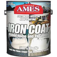 ames iron coat elastomeric roof coating ic1 do it best