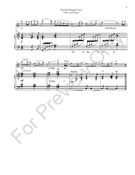 Old Rugged Cross Music The Old Rugged Cross Flute Solo With Piano U0026 J W Pepper Sheet Music