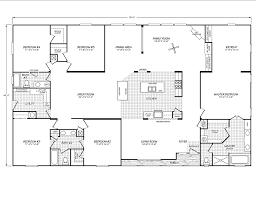 100 4 5 bedroom mobile home floor plans 100 open floor