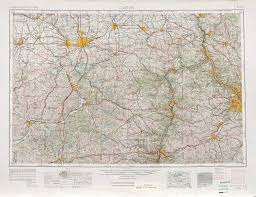 Map Of Eastern Ohio by Canton Topographic Maps Oh Pa Wv Usgs Topo Quad 40080a1 At 1