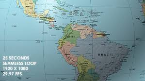 map of equator rotating globe political map equator focus by vf videohive