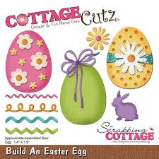 easter egg sale new cottagecutz die cuts build an easter egg die