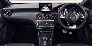 mercedes benz jeep matte black interior mercedes a45 amg review carwow