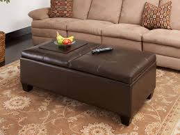 leather coffee table with traditional and modern choices