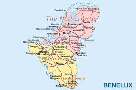 map netherlands belgium map belgium netherlands major tourist attractions maps