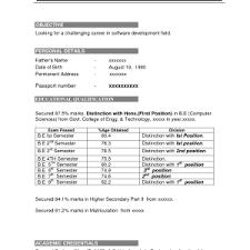 best resume format for freshers free download link for cv format