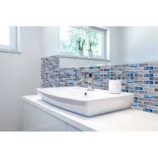 glass tiles for kitchen backsplashes pictures blue glass tile kitchen backsplash subway marble bathroom wall