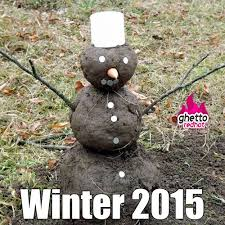 Snowman Meme - winter 2015 ghetto red hot