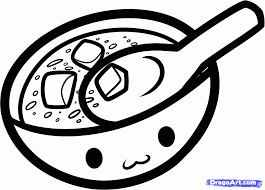 how to draw miso soup step by step food pop culture free