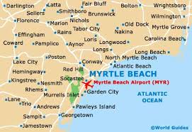 murrells inlet map myrtle maps and orientation myrtle south carolina
