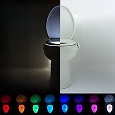 Water Faucet Night Light Amazon Com Lumilux Advanced 16 Color Motion Sensor Led Toilet