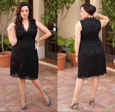 vintage black lace plus size special occasion dresses