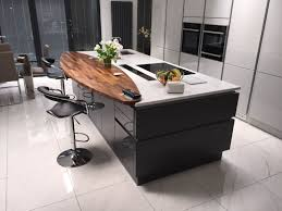 kitchen blog sigma 3 the varying levels on this island separate it perfectly for preparing food as well as dining this is ideal if you want a dining table that is incorporated