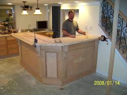 building a bar with kitchen cabinets basement interesting building a basement bar pictures building