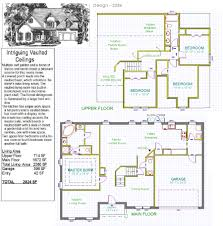 vaulted ceiling floor plans house plan 2386