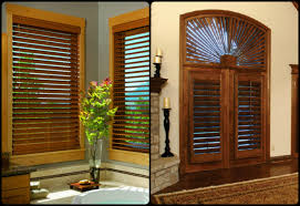 Wooden Plantation Blinds Mixing Faux Wood Blinds And Plantation Shutters Kirtz Shutters