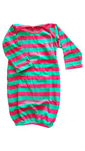 stripes infant gown my vinyl direct