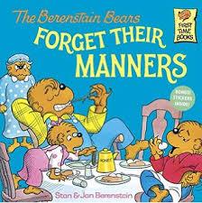 berenstien bears the berenstain bears and much junk food stan berenstain jan