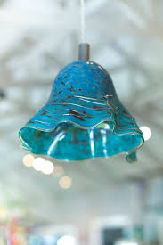 Fine Art Lighting Fixtures by Custom Blown Glass Lighting From Salado Glassworks