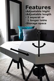 Ikea Dave Laptop Table The Kvissle Adjustable Coffee Table Don U0027t You Wish Ikea Really