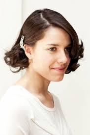 gatsby short hairstyle diy retro gatsby inspired wedding hairstyle for short locks