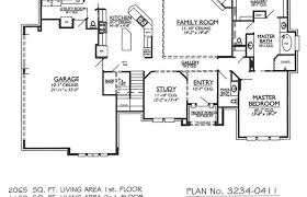 house plan with basement house plan walkout basement plans story ranch with rustic modern