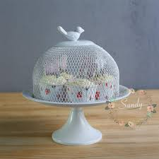 cake stand with cover 19 5cm bird cage wrought iron cake end 12 17 2018 3 54 pm